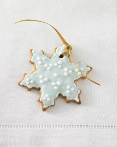 snowflake cookie inspiration {so pretty!}