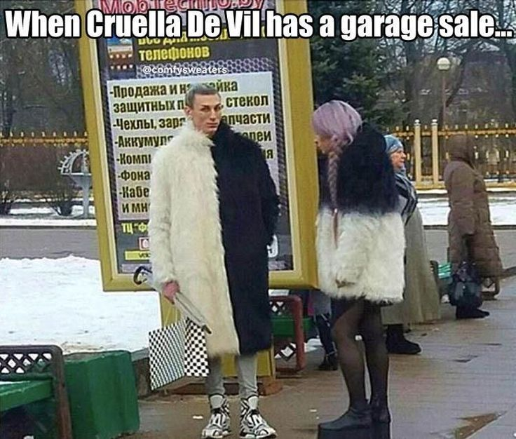 When Cruella De Vil Has A Garage Sale funny memes lol humor funny pictures funny memes funny pics funny images really funny pictures funny pictures and images
