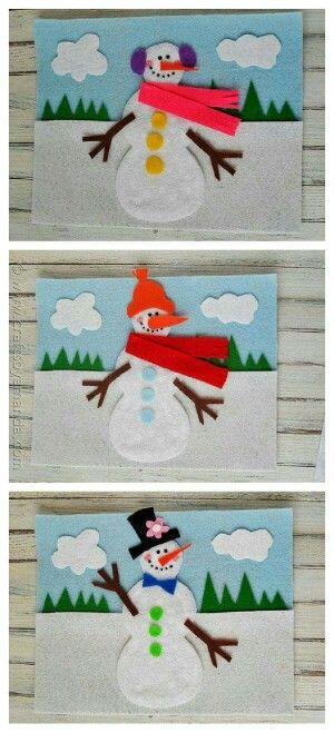 Watjes sneeuwman