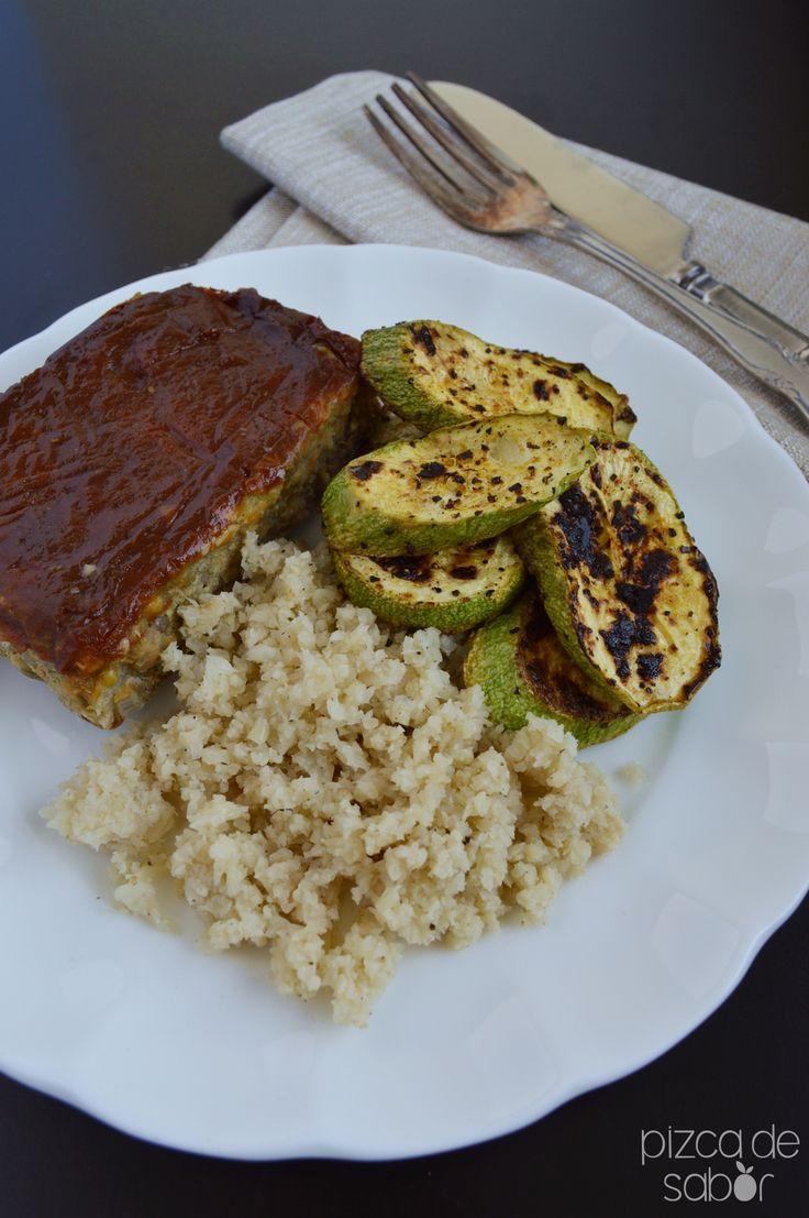 Cómo hacer arroz de coliflor www.pizcadesabor.com
