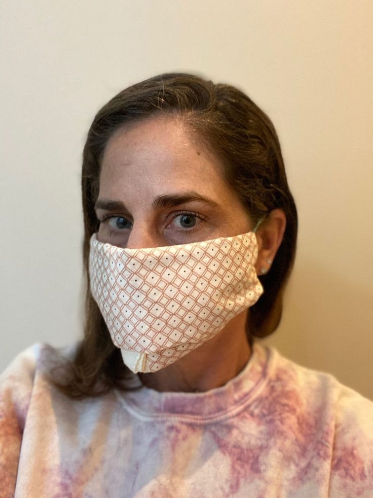 The world's easiest DIY face mask tutorial, no sewing