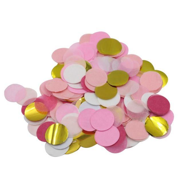 (5000 stuks/zak) Roze Goud Confetti Baby Douche Tafeldecoratie Foto Prop Roze Prinses Party Roze Meisje Verjaardag