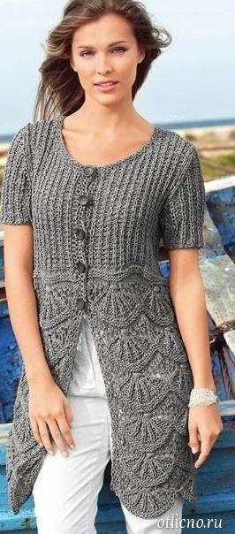 вязание, мода для полных женщин, вязание спицами, вязание жакеты кардиганы,