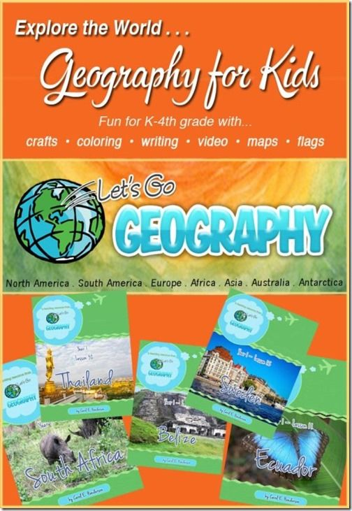 Let's Go Geography homeschool program for kids