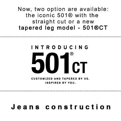 #jeansshop #springsummer15 #spring #summer #new #newproduct #newarrivals #levis #liveinlevis #leviscollection #womenjeans #women #womencollection #mencollection #men #501 #501ct #denim #tapered #customized