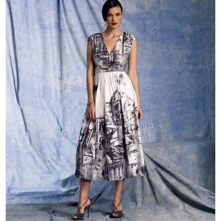 Vogue Patroon dress