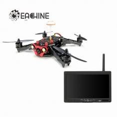 Eachine Racer 250 FPV Drone Built in 5.8G Transmitter OSD With 7 Inch 32CH Monitor HD Camera ARF