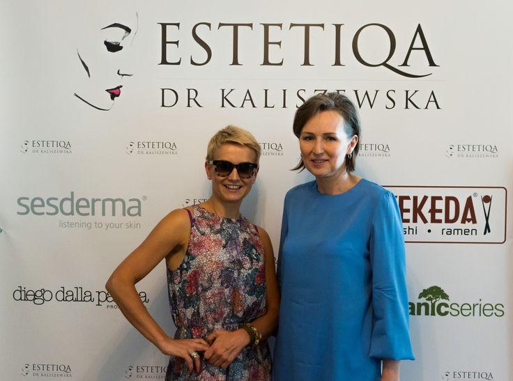 Marta Kuligowska i dr Anna Kaliszewska