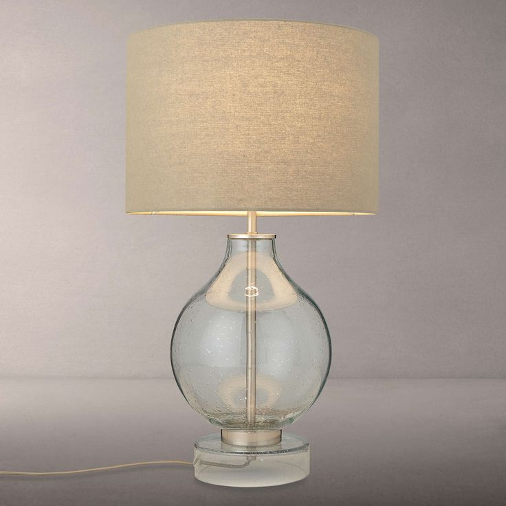 BuyCroft Collection Selsey Large Table Lamp, Blue Tinted Online at johnlewis.com