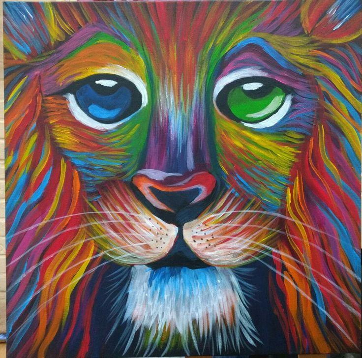 Abstracte leeuw