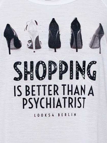 Shopping is better than a psychiatrist via ZsaZsa Bellagio