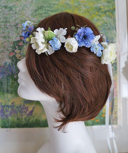 青の花冠 大きさバラバラな方がかわいい!