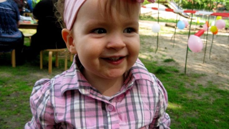 One of my favorite pics of my precious daughter, Olivia.