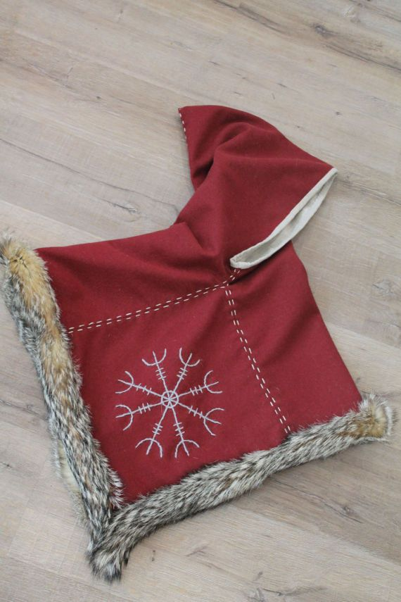 Viking hood early medieval garment