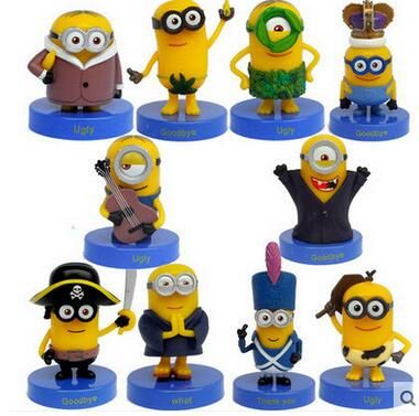 10pcs/set Despicable Me 2 Minion Action Figures Minions Cosplay PVC Action Figure Toys Anime Figurines Model Toy Gift for Kids //Price: $US $14.50 & FREE Shipping //     #rchelicopters