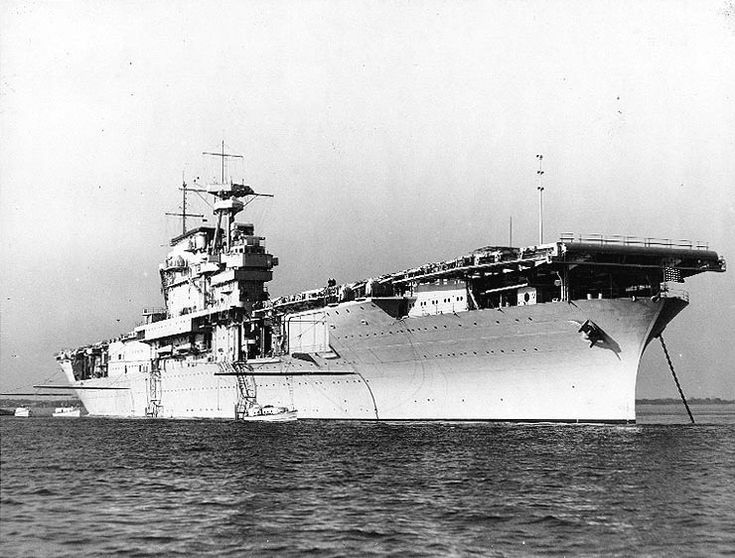 October 30, 1937: US Yorktown CV-5 at Hampton Roads, Virginia. MaritimeQuest - USS Yorktown CV-5