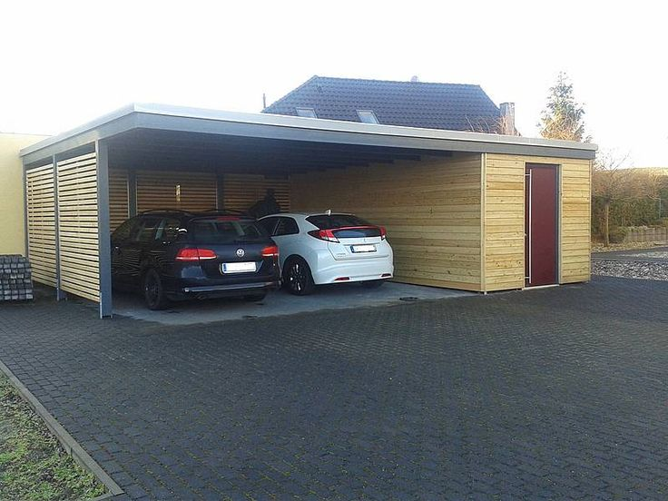 die besten 25 carport garage ideen auf pinterest moderner carport carport ideen angebaut und. Black Bedroom Furniture Sets. Home Design Ideas
