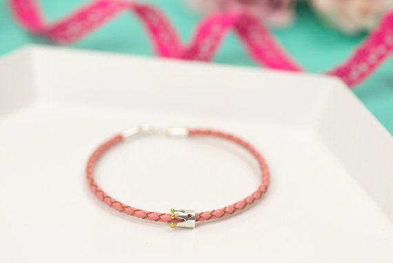 Bible Verse Jewellery - Christian Bracelet - Crown Bracelet - Bible Verse Bracelet - Leather Bracelet - Charm Bracelet - Flower Girl Gift