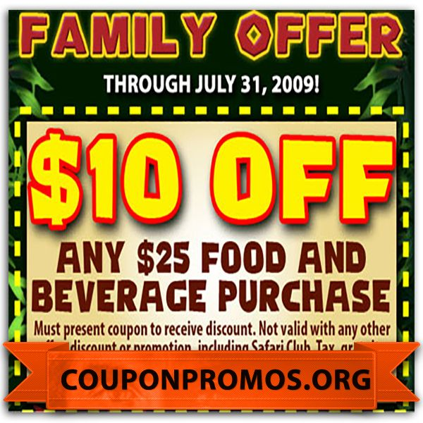 Rainforest Cafe For Less