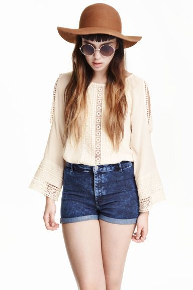 Šortky High waist | H&M
