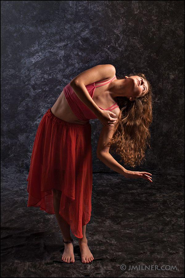 Regional Performing Artist Ms. Jocelyn Jacques dancing in the studio. www.jmilner.com