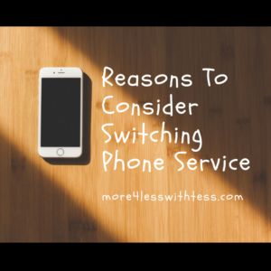 How much are you paying a month for cell phone service?  It may be too much.  Read more to find out why you may want to consider changing providers .  ##frugalliving #phoneservice #Save #Saving Money #smartphone