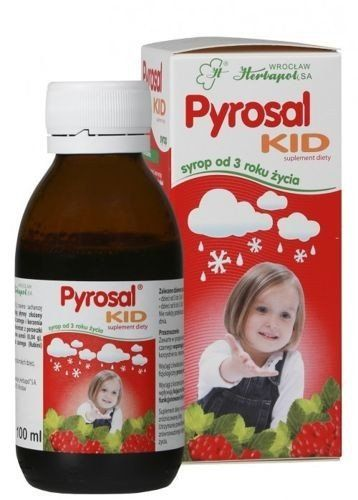PYROSAL KID syrup 100ml natural immunity 3 , lower respiratory tract infection