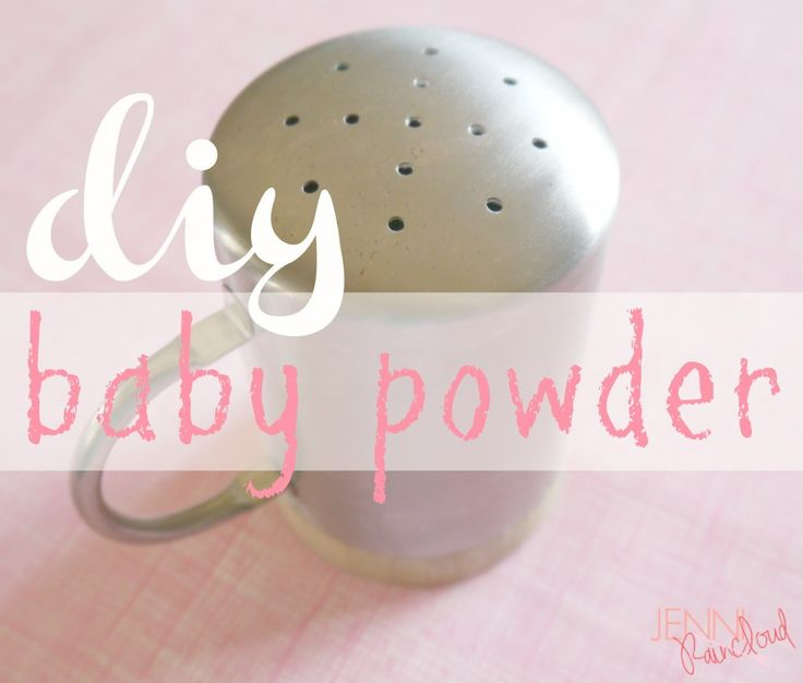 how to make oobleck with baby powder