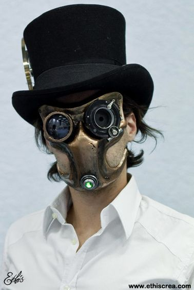 Steampunk mask by Ethis-Crea