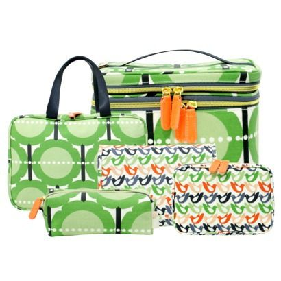 Orla Kiely Garden Bag Collection. OMG, these bags are gorgeous, and perfect for organizing planner accessories!