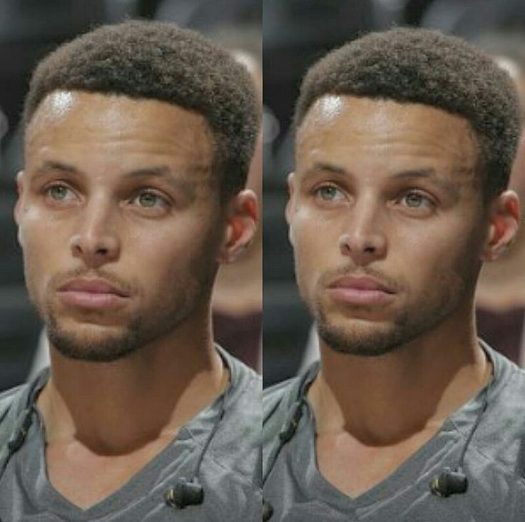 Stephen Curry said he's not mixed, but he sure looks like he's got some mixed blood in him.