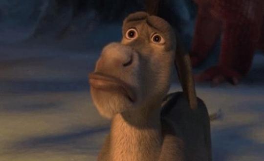 La oscura historia sobre el origen del burro de Shrek que circula en Internet - http://wp.me/p7GFvM-Afn
