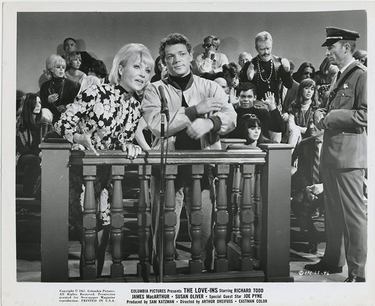 Sixties   James MacArthur and Susan Oliver in The Love-Ins, 1967