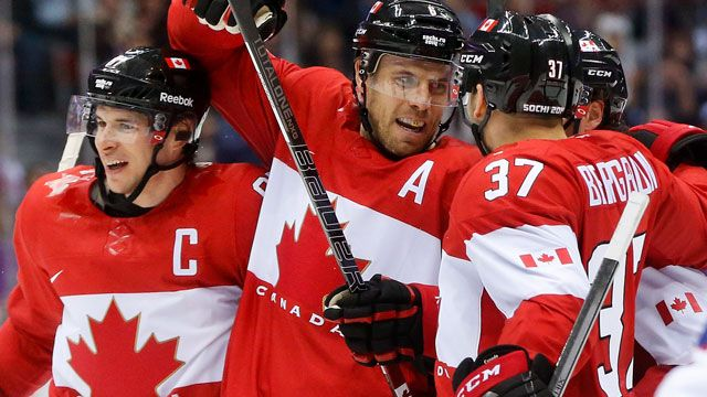 Olympic hockey live: Canada wins!