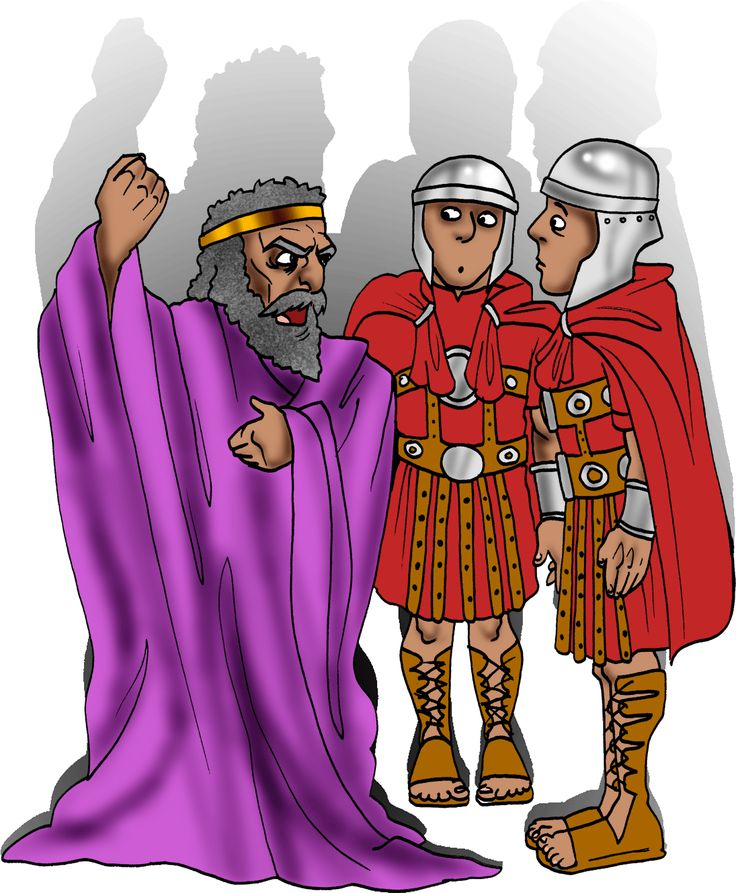 King Herod was not happy that Yeshua (Jesus) and His parents had escaped to Egypt!