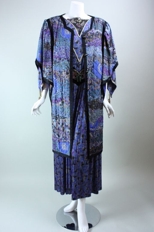 Emanuel Ungaro Couture Ensemble | From a collection of rare vintage suits, outfits and ensembles at https://www.1stdibs.com/fashion/clothing/suits-outfits-ensembles/