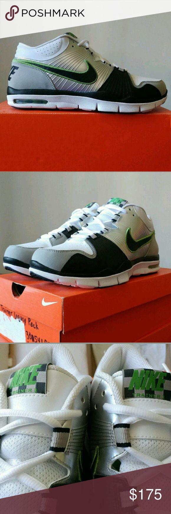 2009 air trainer 1 ltd legacy chlorophyll 10/10 ds condition. Replacement box. Open to trades.  Will work through 🅿🅿 direct. Nike Shoes Sneakers