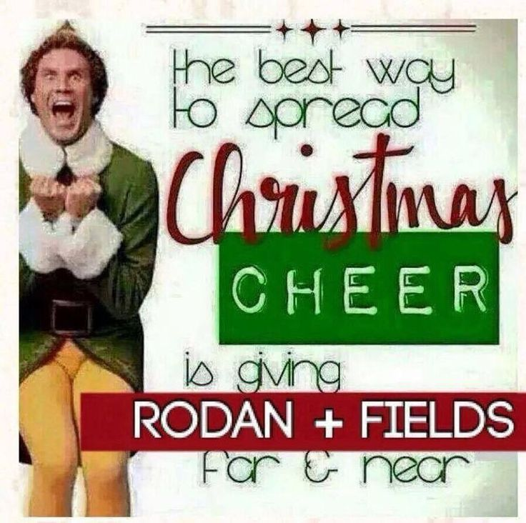 What's the best way to spread Holiday Cheer? Why gift Rodan + Fields!!! I'm waiting for your call  www.achiarelli.myrandf.com