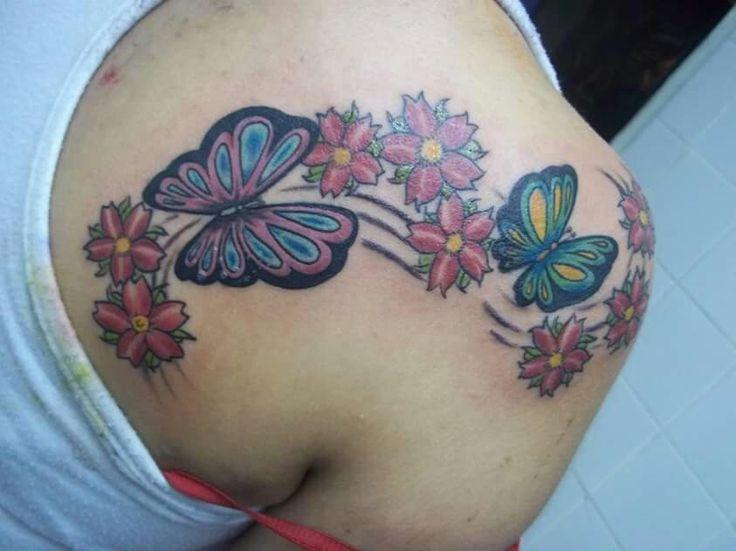 Tatuaje mariposas