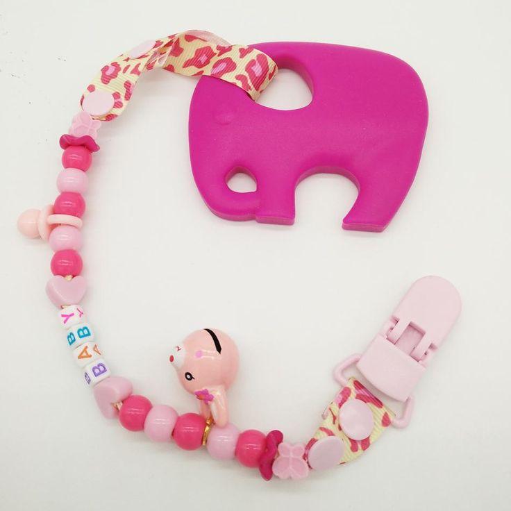 Elephant shape High Quality Massage Teether ***FREE INSURED SHIPPING.