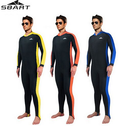 SBART UPF50+ Rashguard Water Sports One Pieces Surfing Diving Suit Men's Quick-Dry Snorkeling Swimming Swimwear Swimsuit Wetsuit