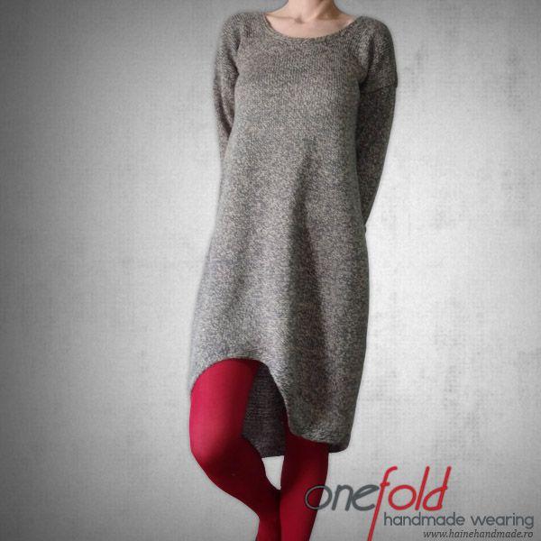 rochie casual tricotata