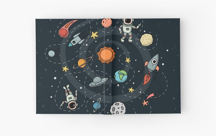 Outer Space Illustration by Gordon White | Closed Hardcover Journal Available @redbubble  --------------------------- #redbubble #sticker #hardcoverjournal --------------------------- http://www.redbubble.com/people/big-bang-theory/works/22569162-outer-space-planetary-illustration?asc=u&p=hardcover-journal&rel=carousel