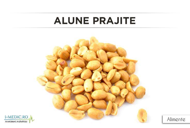 Alunele prajite au un aport caloric de 200 de calorii pe 34,2 grame de produs. http://www.i-medic.ro/diete/alimente/alune-prajite