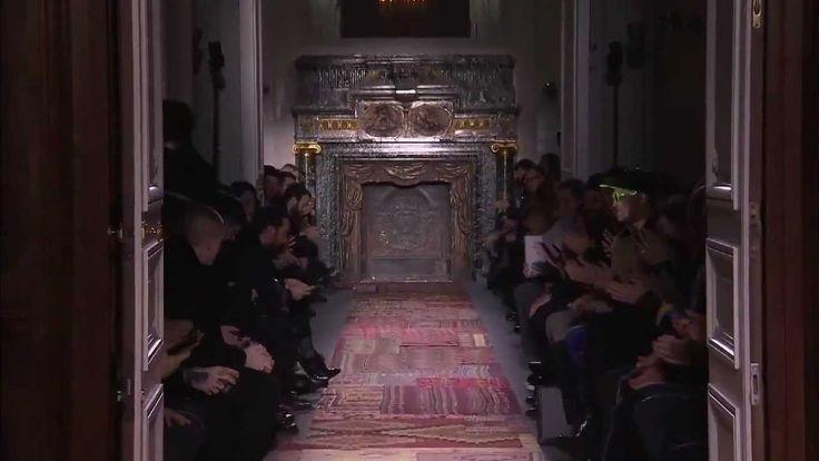 Valentino Men's Fall/Winter 2014 2015 Full Fashion Show.