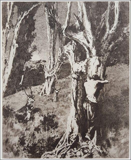 Ary Renan (1857-1900), La Douleur d'Orphée - 1903