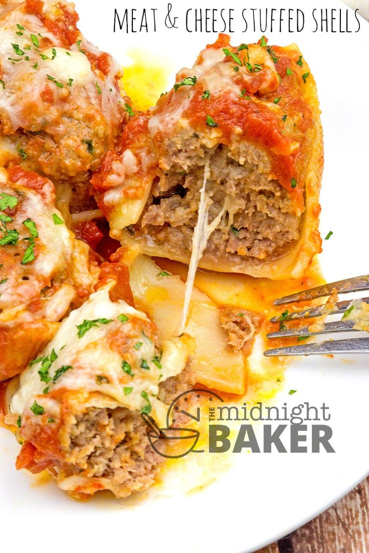 Pasta shells stuffed with cheese-packed savory ground beef is the ultimate comfort dinner and it's easy to make too! Meat Stuffed Shells Are Easy And Tasty Stuffed shells are always a crowd pleaser. They make a great buffet food at parties too. It's the one Italian-style dinner I thoroughly enjoy and I make these often....Read More »