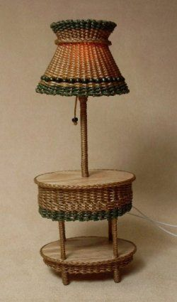 Carolina Two Tier Oval Table Lamps
