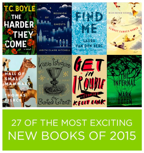 27 Of The Most Exciting New Books Of 2015. The fact that Golden Son isn't on here kind of pisses me off but this is still a good list.