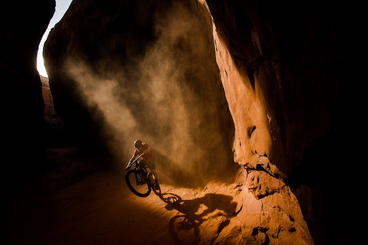Mike Hopkins doing his best Indiana Jones impression on a recent roadtrip through the United States. #MTB #enduro
